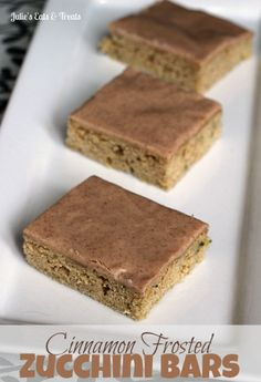 Cinnamon+Frosted+Zucchini+Bars+~+Amazingly+soft+bars+topped+with+a+cinnamon+frosting+glaze!+