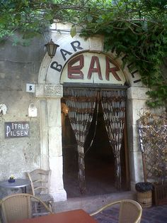 El bar Vitelli, el bar del Padrino