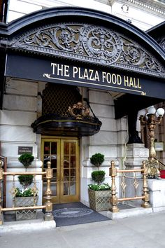 The plaza food hall -Lady M cakes & Todd English