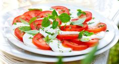 Salade capreseVoir la recette >>