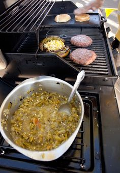 Green Chile Cheeseburger | Food New Mexico Does Better Than Anyone Else