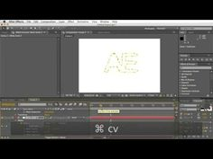 After Effects Cool text effect Tutorial - PART 2 - YouTube