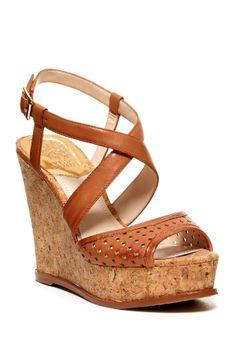 Vince Camuto Ilario Cork Platform Wedge Sandal on HauteLook