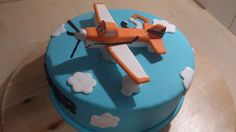 Disney Planes, Dusty cake/taart Planes Cake, Planes Party, 4th Birthday Cakes, 3rd Birthday Parties, Dusty Cake, Cakes For Boys, Cupcake Cakes, Cupcakes, Diy Food