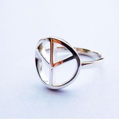 PEACE Sterling Silver Ring [AN04]