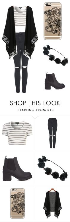 """Sin título #190"" by karenrodriguez-iv on Polyvore featuring moda, Topshop y Casetify"