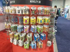 USB flash drives, in more designs and shapes than you can ever possibly imagine. Who sells these, though? #ces2015