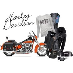 """""""Harley Girl"""" by girlyideas on Polyvore"""