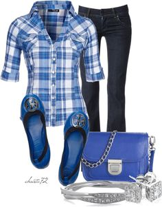 """""""The Blues"""" by christa72 on Polyvore"""