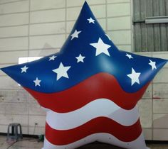 Patriotic Star Inflatable