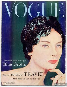 Vogue UK 1958 August, The Centenary of Worth, Otto Lucas