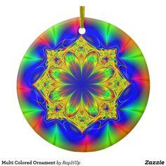 Multi Colored Ornament