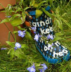 Cricut Explore Wellie Boot Plant Pots - Hobbycraft Blog