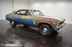 1969 Chevrolet Nova Documented 4 Speed For Sale - Classic Car Liquidators Chevrolet Nova, Chevy Nova, Nova Car, 69 Nova, Junkyard Cars, Chevy Muscle Cars, Abandoned Cars, Amazing Cars, Awesome