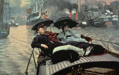 The Thames, by James Tissot