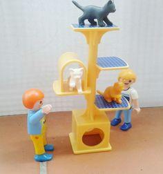 PLAYMOBIL PLATAFORMA DE JUEGOS PARA GATOS CON NIÑOS INCLUIDOS 5 e #playmobil #ventasplaymobil