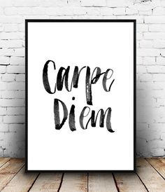 Typography Quote Home Decor Motivational Poster by Wallzilla