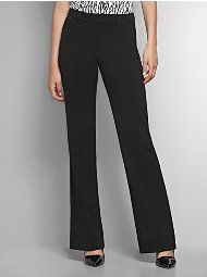 The 7th Avenue Bootcut City Double Stretch Pant - Bold Colors - Tall