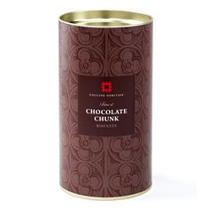 Full of delicious creamy chocolate chunks, these decadent biscuits are ideal for that special tea time treat.  http://www.english-heritageshop.org.uk/food-drink/food/english-heritage-finest-chocolate-chunk-biscuits