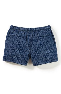 Main Image - Peek Geo Print Shorts (Baby)