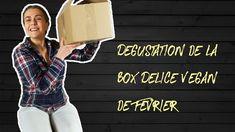 """Dégustation Box Délice Vegan Février """"the voice?"""""""