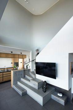 Villa U tile floors