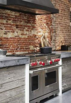 Las 15 mejores im genes de cocinas rusticas de ladrillo en for Disenos de casas rusticas de ladrillo
