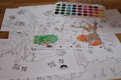 Őszi óriás-színező Fa, Doodle Coloring, Hobbit, Techno, Doodles, Doodle, The Hobbit, Doodle Art