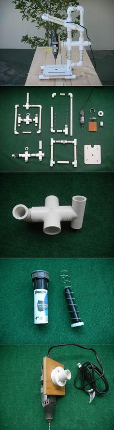 creaciones makeup ideas when your bored - Makeup Ideas Pvc Pipe Crafts, Pvc Pipe Projects, Diy Pallet Projects, Garage Tools, Diy Garage, Garage Atelier, Diy Workbench, Homemade Tools, Tips & Tricks