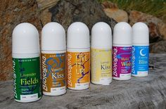 I love the Vanilla kiss one. These deodorants don't use aluminium or petroleum products and are organic.
