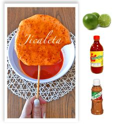 Jicaleta!, Jicama with chile! Try it this summer in your party!