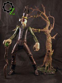 Steampunk Oz - Scarecrow (DC Universe) Custom Action Figure