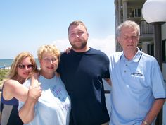 Our family vacationing at Rehoboth Beach.( Meg, Barb, Zach & Len)