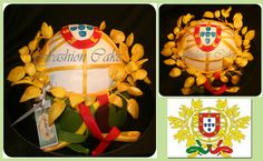 Portugal Cake, for those who honor the flag is part of their work everyday