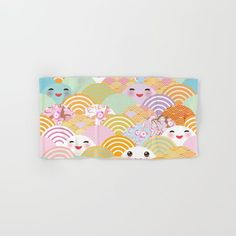seamless pattern Kawaii with pink cheeks and winking eyes with japanese sakura flower Hand & Bath Towel https://society6.com/product/seamless-pattern-kawaii-with-pink-cheeks-and-winking-eyes-with-japanese-sakura-flower_bath-towel?curator=christinebssler
