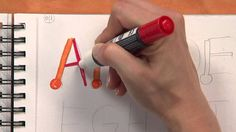 Candie Cooper demonstrates how to create easy hand-lettering fonts. This tutorial is great for beginners who want to get into basic lettering.