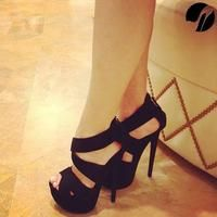 These black heels shoes