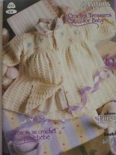 Crochet Treasures for Baby by Patons B520 by CarolsCreations77, $4.50