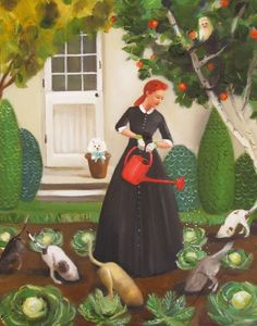 Miss Moon was a Dog Governess Lesson 18: Nurture The Environment And You Will Never Be Hungry          by Janet Hill