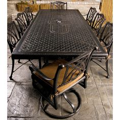 Family Leisure has the largest selection of patio furniture including the Grand Terrace collection from Gensun. Outdoor Dining Furniture, Patio Dining, Outdoor Decor, Patio Tables, Outdoor Stuff, Outdoor Fire, Outdoor Spaces, Outdoor Living, Grand Terrace