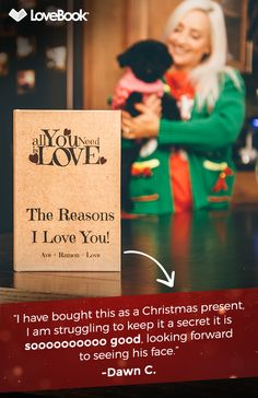 Your perfect holiday gift awaits. LoveBook is simple to create and completely customizable. Create a personalized love story at lovebookonline.com.