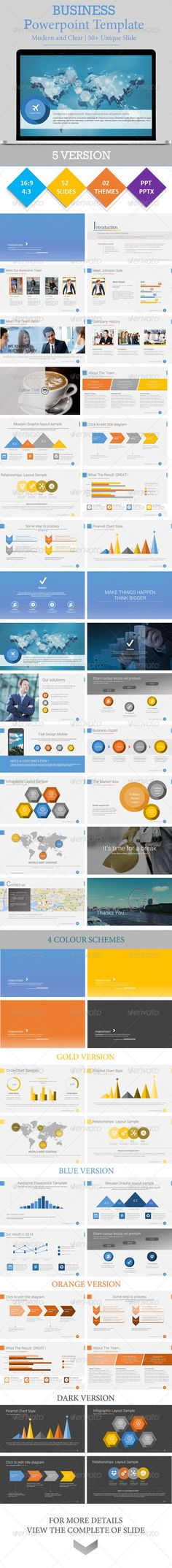 BUSINESS - Powerpoint Presentation Template