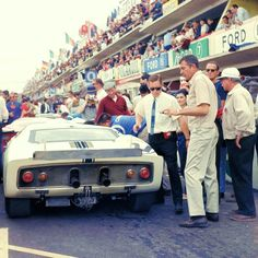 Le Mans 1965-Carol Shelby was one of the greatest automotive icons of all time.