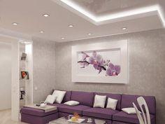 гостинная в фиолетово-белом цвете - Поиск в Google