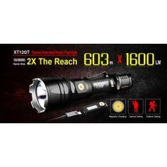 Klarus XT12GT Tactical Flashlight (1600 Lumens)