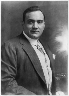 Enrico Caruso - listen to this and you'll know what it's all about. http://youtu.be/t936rzOt3Zc