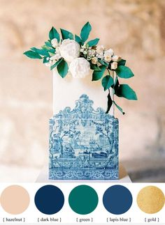 Blue + green and gold wedding colour idea for summer wedding | fabmood.com #weddingcolor #summerwedding #summer