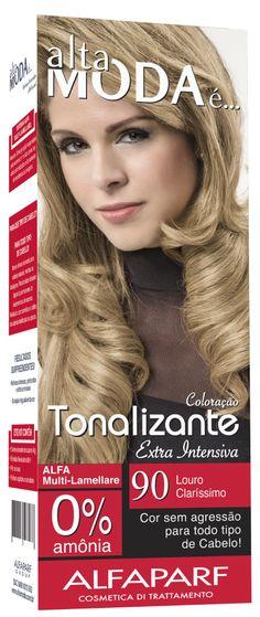 90 LOURO CLARÍSSIMO, tonalizante, alta moda e, alfaparf, tonalizante para cabelo, cores para cabelo