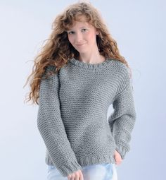 modèle tricot pull femme gratuit Point Mousse, Knit Crochet, Knitting Patterns, Turtle Neck, Celebs, Couture, Sewing, Sweaters, How To Make