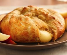 Crescent-Wrapped Brie